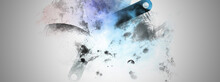 Abstract Colorful Background Bg Wallpaper Art With Simple Geometry