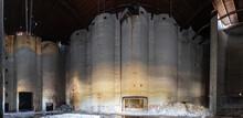 Interior Of Grain Silo