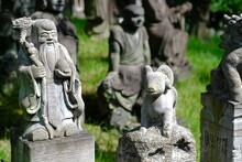 日本、京都市、嵐山。仏像。2021年8月23日。