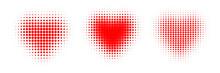 Heart Polkadot Vector Pattern
