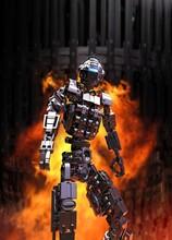 Futuristic Robot, Illustration