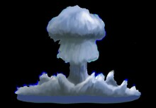 Mushroom Cloud, Illustration