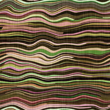 Mid Century Modern Stripe Fabric 1960s Style Pattern. Seamless Graphic Broken Line Repeat Texture. Decorative Nature Patterned Camouflage Effect. Printed Cotton For Soft Furnishing And Fashion Print.