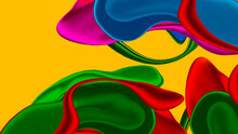Creative Painting Colorful Abstract On Background, Abstract Color Background Design,