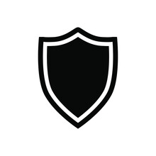 Shild Icon Vector. Defence Illustration Sign. Armor Symbol. Protection Logo. Security Mark.