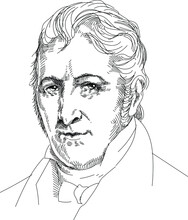 Eli Whitney - American Inventor And Industrialist. He Invented A Cotton Gin Separator, Was One Of The First To Design A Milling Machine, And Laid The Foundations For Organizing Mass Production