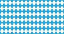 Bavarian Oktoberfest Seamless Pattern With Blue And White Rhombus Flag Of Bavaria Oktoberfest Blue Checkered Background Wallpaper Vector Old Diamonds Background With Cracks And Dust