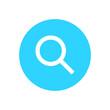 Blue Magnifier icon