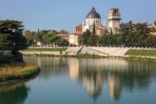 Verona. Chiesa Di San Giorgio In Braida Alla Curva Dell' Adige