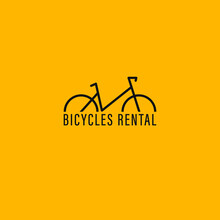 Bicycle Icon Logo Vector.sign And Symbols