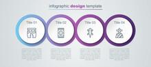 Set Line Huehuetl, Mexican Carpet, Lizard And Man Sombrero. Business Infographic Template. Vector