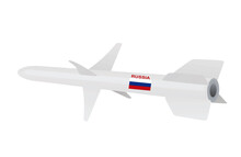 Russia Army Missile. Vector Illustration