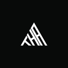 THA Letter Logo Creative Design. THA Unique Design