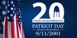 Leinwandbild Motiv Patriot Day 2021