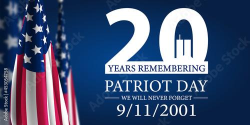 Stampa su Tela Patriot Day 2021