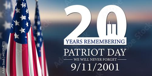 Carta da parati Patriot Day 2021