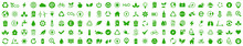Ecology Icons Set. Nature Icon. Eco Green Icons. Vector Illustration
