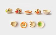 Mini Ceramic Bowls For Incense Cones Or Kamyan.