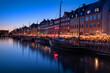 Leinwandbild Motiv Kopenhagen