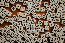Jumbled Up Scrabble Letters, Learning, Inspired