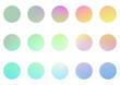 Zestaw okładek highlights. Abstrakcyjne gradientowe ikony dla social media. Piękne kolorowe tło lub elementy na blog.