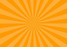 オレンジ ハロウィン 集中線 放射線 ビーム 背景 壁紙