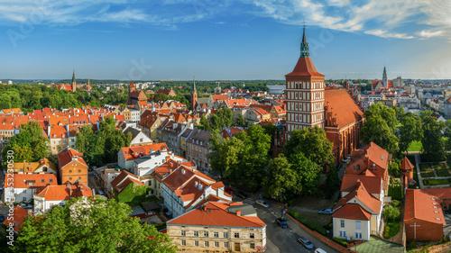 Stampa su Tela Olsztyn-katedra i Stare Miasto