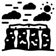 Stonehenge Glyph Icon