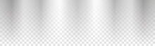 Vector Silver Gradient Background On Transparent Background