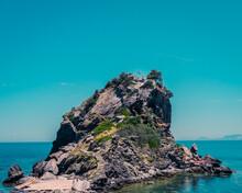 Mamma Mia Church, Skopelos Island, Greece