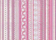 A Modern Twist On Traditional Tribal Stripe Pattern. A Seamless Vector Pattern In Pretty, Distressed Pinks, Lavender And Raspberry Colors Perfect For Women, Teens, And Girls.