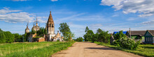 Landscape, An Old Abandoned Orthodox Church