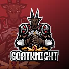 Knight Of Goat Esport Logo