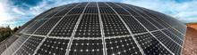Solar Power Station, Power Plant Using Renewable Solar Energy, Solar Power Plant With Photovoltaic Panels