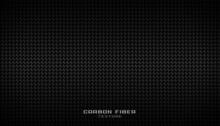 Black Carbon Fiber Pattern Texture Background