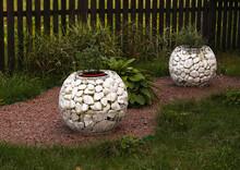 White Stone In The Garden