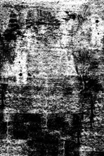Black And White Grunge Texture Of An Old Wall