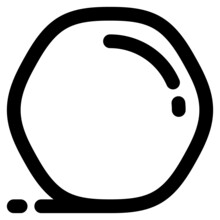 Snowball Icon Illustration