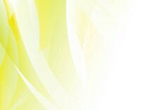 カーブする黄色いグラデーションの抽象背景