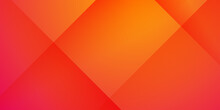 Orange Yellow Abstract Background. Abstract Colored Background With Diagonal Stripes. Vector Geometric Minimal Pattern. Modern Sleek Texture