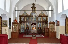 The Interior Of The Old Serbian Orthodox Church