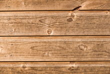 Weathered Planks Of A Barn