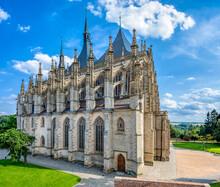 Saint Barbara's Cathedral, Church, Czech: Chram Svate Barbory, Is A Roman Catholic Church In Kutna Hora, Bohemia, UNESCO WORLD HERITAGE,Czech Republic
