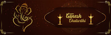 Happy Ganesh Chaturthi Celebration Banner