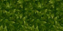 緑の葉っぱシームレス