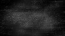 Dark Grunge Chalk Board Texture Black Board Banner Background With Dust And Scratches