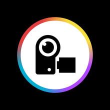 Video Camera - Sticker