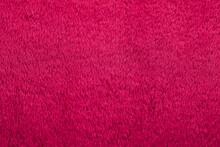 A Closeup Shot Of Pink Fabric Texture