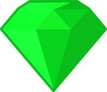 Emerald Gemstone Jewelry Clip Art