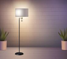 Floor Lamp Realistic Background